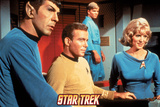 Star Trek: The Original Series, Spock, Captain Kirk and Nurse Chapel Photo