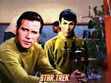 Star Trek: The Original Series, Captain James T. Kirk and Mr. Spock Posters