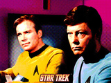 Star Trek: The Original Series, Captain James T. Kirk and Dr. McCoy Photo