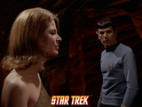 "Star Trek: The Original Series, Zarabeth and Spock in ""All Our Yesterdays"" Prints"