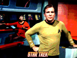 Star Trek: The Original Series, Captain James T. Kirk Print