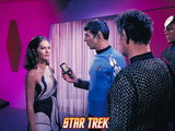"Star Trek: The Original Series, Mr. Spock with the Romulan Commander in ""The Enterprise Incident"" Prints"
