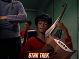 Star Trek: The Original Series, Uhura Playing a Stringed Instrument Posters