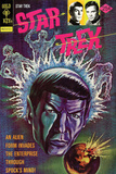 Star Trek: The Original Series Illustrated Cover, Alien Invades Enterprise Through Spock's Mind! Photo