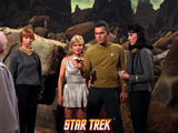 Star Trek: The Original Series, Holding Phaser on a Talosian Photo