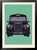 London - Cab I Prints by Ben James