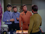 Star Trek: The Original Series, Mr. Spock, Dr. McCoy and Captain Kirk with Another Photo