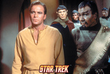 Star Trek: The Original Series, Captain Kirk, Spock and Klingon Photo