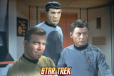 Star Trek: The Original Series, Captain Kirk, Spock and Dr. McCoy Photo