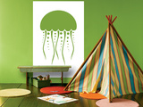 Green Jellyfish Posters by  Avalisa