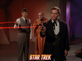 "Star Trek: The Original Series, Mr. Spock and Captain Kirk in ""Return of the Archons"" Photo"