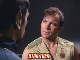 "Star Trek: The Original Series, Spock's Counterpart and Kirk in ""Mirror, Mirror"" Prints"