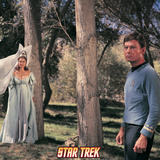 "Star Trek: The Original Series, Dr. McCoy and Yeoman Barrow on ""Shore Leave"" Photo"