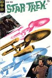 Star Trek: The Original Series Cover, Alien Form Invades Enterprise Through Spock's Mind! Posters