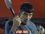 "Star Trek: The Original Series, Mr. Spock in ""Amok Time"" Prints"