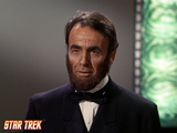 "Star Trek: The Original Series, Visage of Abraham Lincoln in ""The Savage Curtain"" Print"