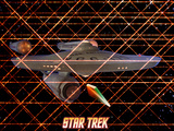 "Star Trek: The Original Series, The USS Enterprise in ""The Tholian Web"" Posters"