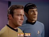 Star Trek: The Original Series, Captain Kirk and Mr. Spock Photo