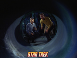 "Star Trek: The Original Series, Mr. Spock and Captain Kirn in ""The Devil in the Dark"" Photo"