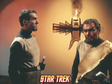 "Star Trek: The Original Series, Klingons in ""Errand of Mercy"" Photo"