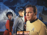 Star Trek: The Original Series, Captain Kirk, Mr. Spock and Uhura Photo