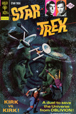 Star Trek: The Original Series Illustrated Cover, Kirk Vs. Kirk Poster