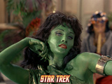 Star Trek: The Original Series, Green Orion Slave Girl Posters
