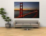 Golden Gate-broa Plakater av Vincent James