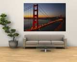 Golden Gate Bridge Poster van Vincent James