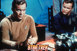 Star Trek: The Original Series, Two Captain Kirks Android Replica Prints