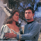 Star Trek: The Original Series, Dr. McCoy and Yeoman Barrow on &quot;Shore Leave&quot; Photo