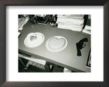 Two Cakes and a Gun, c.1985 Art by Andy Warhol