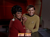 "Star Trek: The Original Series, Uhura and Chekov in ""The Trouble with Tribbles"" Photo"