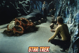 "Star Trek: The Original Series, Captain Kirk, Mr. Spock and Horta in ""The Devil in the Dark"" Posters"