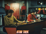 "Star Trek: The Original Series, Chekov's Counterpart and Sulu's Counterpart in ""Mirror, Mirror"" Prints"