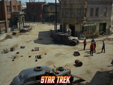 Star Trek: The Original Series, Star Trek Crew in a Ghost Town Prints