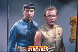 "Star Trek: The Original Series, Spock's Counterpart with Kirk in ""Mirror, Mirror"" Print"