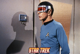 "Star Trek: The Original Series, Spock in ""Is There in Truth No Beauty"" Print"