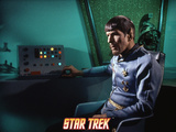 "Star Trek: The Original Series, Spock's Counterpart in ""Mirror, Mirror"" Poster"
