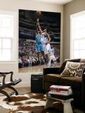 New Orleans Hornets v Dallas Mavericks: Emeka Okafor and Tyson Chandler Prints by Glenn James