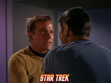 Star Trek: The Original Series, Captain Kirk with Spock in his Grasp Prints