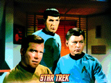 Star Trek: The Original Series, Captain Kirk, Mr. Spock, Dr. McCoy Photo
