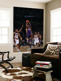 Los Angeles Lakers v Milwaukee Bucks: Kobe Bryant and John Salmons Poster by Gary Dineen