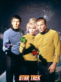 Star Trek: The Original Series, Captain Kirk, Mr. Spock and Yeoman Janice Rand Photo