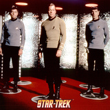 Star Trek: The Original Series Transporter with Captain Kirk, Spock and Dr. McCoy Photo