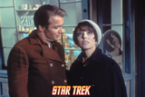 "Star Trek: The Original Series, Captain Kirk and Edith Keeler in ""The Planet on the Edge of Forever Photo"
