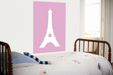 Pink Eiffel Tower Posters by  Avalisa