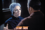 "Star Trek: The Original Series, Captain Kirk and Edith Keeler in ""The Planet on the Edge of Forever Posters"