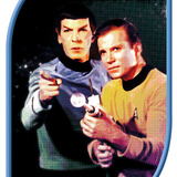 Star Trek: The Original Series, Mr. Spock and Captain James T. Kirk Posters