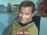 Star Trek: The Original Series, Captain Kirk Smiling Photo